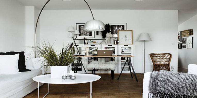 Comment créer un bureau dans le salon ?