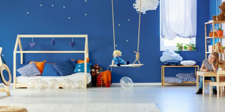 Chambre d'enfant de bas âge : les décorations à éviter